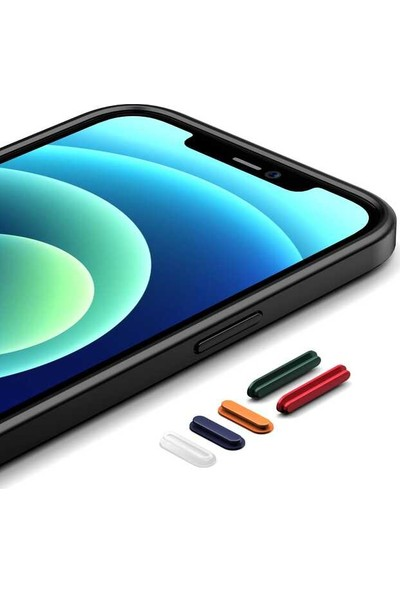 Vendas Apple iPhone 12 Pro Magic Smooth Drop Dizayn Premium Kılıf Lacivert