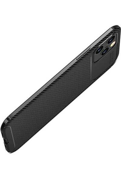 Vendas Apple iPhone 12 Pro Max Deep Dizayn Auto Focus Tasarımlı Kılıf Lacivert