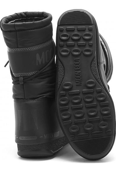 Moon Boot Kadın Bot 24009200 001 Mıd Nylon Wp Black
