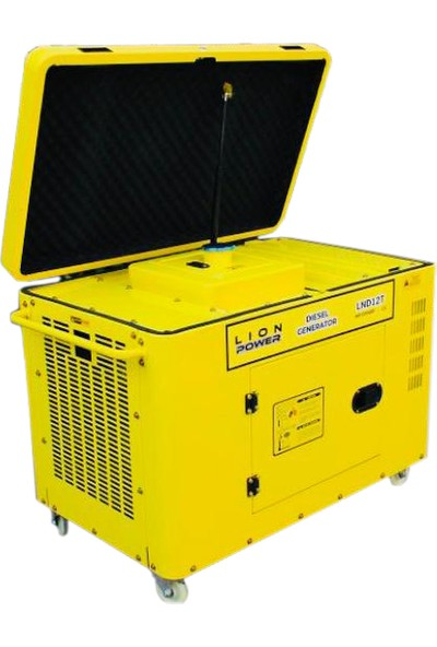 Lıon Power Lnd 12000T Dizel Kabinli Sessiz Monofaze Marşlı