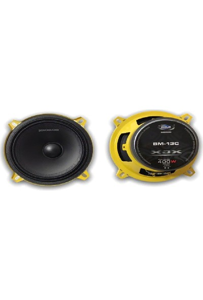 Bm Audio 13 cm -400 w -Anfi Uyumlu-Kaliteli Midrange-2 Adet