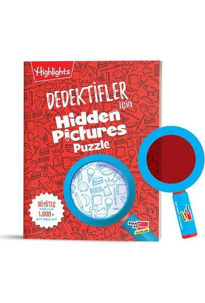 Dikkat Atölyesi Dedektifler Için Hidden Pictures Puzzle