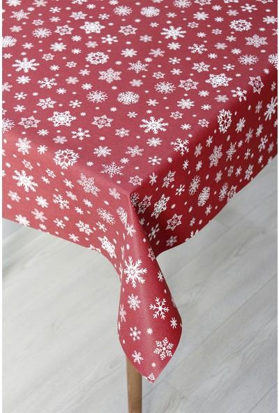 Dede Ev Tekstil Astarlı Silinebilir Pvc Leke Tutmaz Muşamba Masa Örtüsü 1096-3