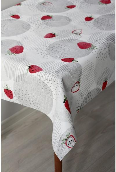 Dede Ev Tekstil Astarlı Silinebilir Pvc Leke Tutmaz Muşamba Masa Örtüsü 1118-3C
