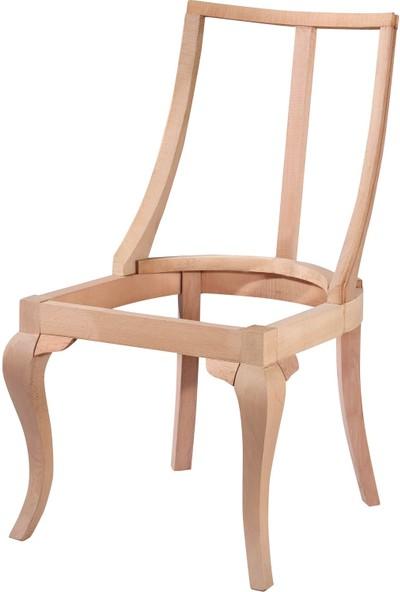 Diğer Bendegan Dünya Sandalye Rustik Cilasız Ahşap