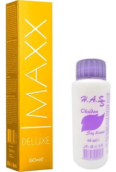 Maxx Deluxe Saç Boyası 60 Ml.+Oksidan 60 Ml. (1 Adet)