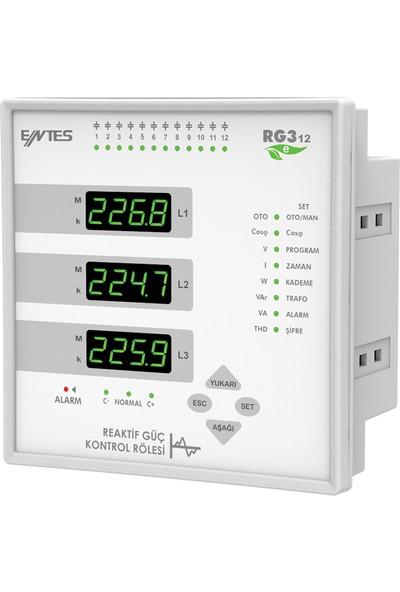 Entes ENT-RG3-12E Reaktif Güç Kontrol Rölesi 144*144 220VAC