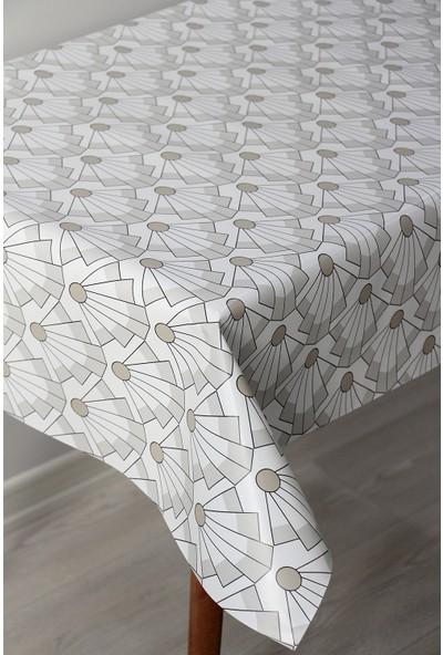Dede Ev Tekstil Astarlı Silinebilir Pvc Leke Tutmaz Muşamba Masa Örtüsü 8077-1M