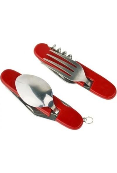 Square Kumanya Çatal Kaşık Bıçak Seti