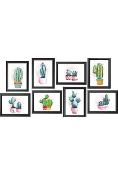 Prigo Dijital Cactus Lover 8'li Tablo Seti