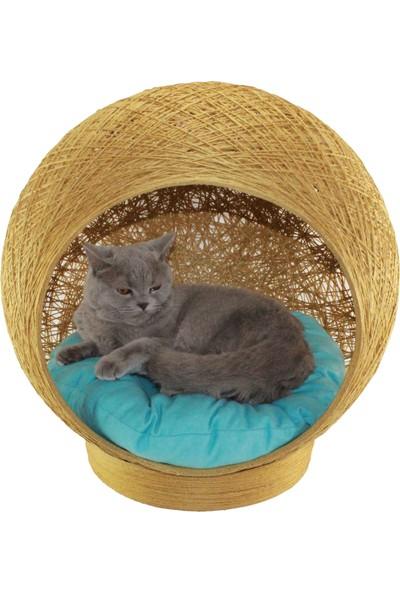 ALPİ Kedi Yatağı Yastığı Yuva Evi