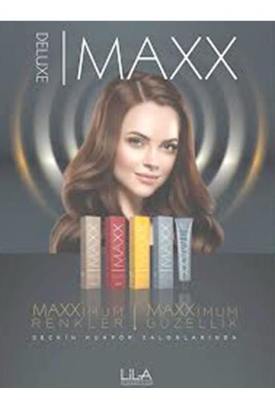 Maxx Deluxe Saç Boyası Yoğun Açık Kumral-8/00+Oksidan (2 Adet)