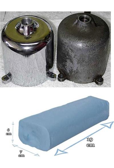 Badem10 Don Yağı Polisaj Parlatma Metal Cila 1 kg + Polisaj Keçesi 115 mm + Matkap Aparatı M14
