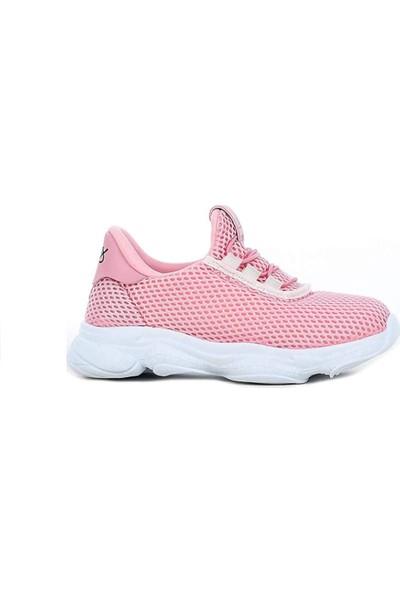 Scorx 001 Pembe Kız Spor Ayakkabı