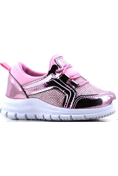 Giggs 090 Gümüş Simli Kız Çocuk Spor Ayakkabı
