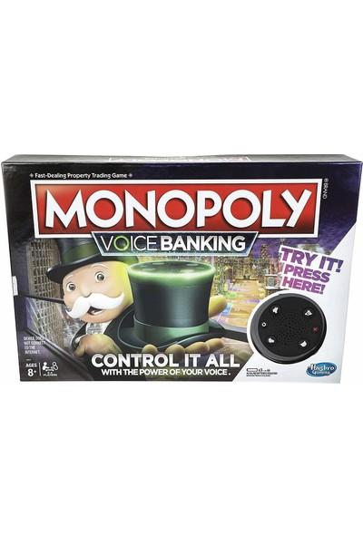 Hasbro Gaming Monopoly Voice Banking Electronic Aile Oyunu (İngilizce)