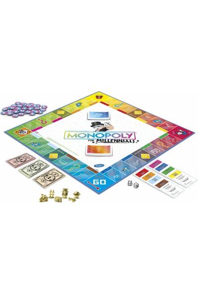 Hasbro Gaming Monopoly For Millennials Kutu Oyunu (İngilizce)