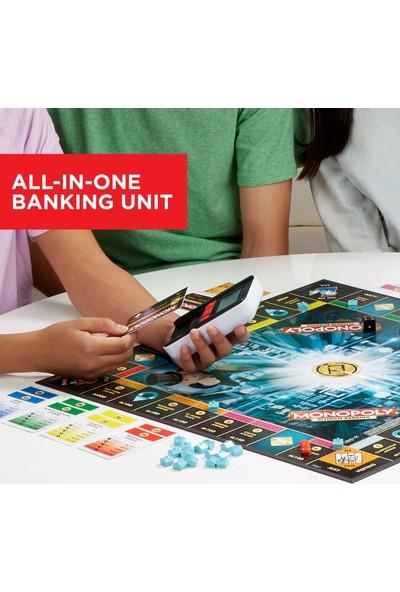 Hasbro Gaming Monopoly Ultimate Banking Kutu Oyunu (İngilizce)
