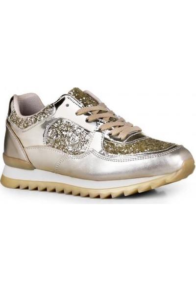 Crash Kadın Sneaker 14045 Altın Çupra 40