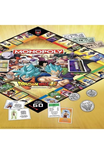 Hasbro Gaming Monopoly Dragon Ball Z Anime Serisi (İngilizce)