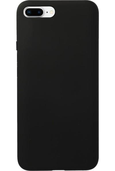Fitcase iPhone 7 Plus / 8 Plus Kılıf Nano Lansman Silikon Arka Kapak Siyah