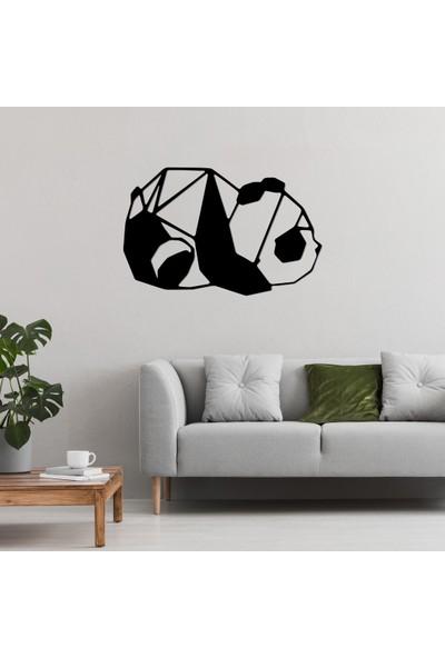 Omart Design Panda Metal Duvar Aksesuarı