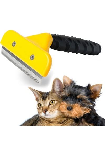 Furminator Orta Boy Tüy Alıcı Kedi Köpek Tarak Temizleme 7 cm