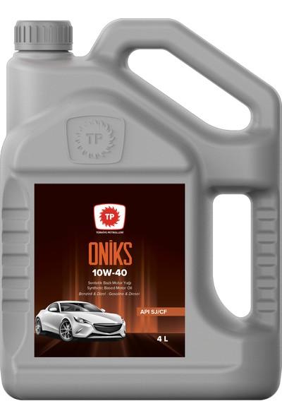 Tp Türkiye Petrolleri Binek Araç Motor Yağı Tp Onıks 10W/40 4 Lt ( Üretim Yılı 2020 )