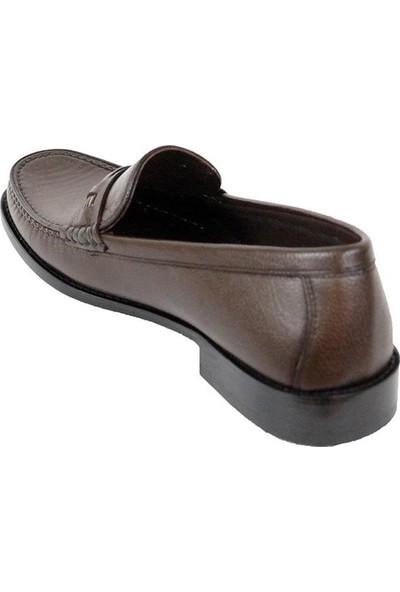 Ustalar Ayakkabı Kahve Erkek Deri Kösele Ayakkabı 464.504