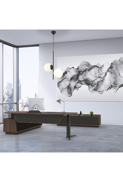 Malibu 2 li siyah modern salon- koridor- genç odası avize beyaz camlı