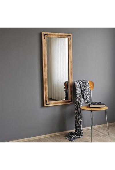 Neostill - Ahşap Eskitme Boy Aynası 50X110