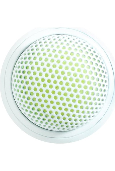 Shure MX395W / O Kondenser Mikrofon (Omni), Beyaz