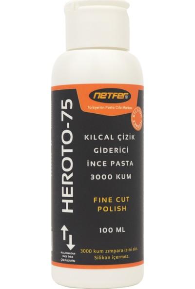 Netfer 3'lü Ince Kalın Pasta Cila Set - 3X100 ml