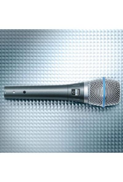 Shure Beta 87A Süper Kardioid Kondenser Vokal Mikrofon