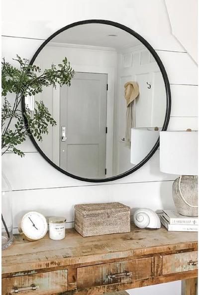 Lyn Home Lyn Dekoratif Konsol Aynası Siyah