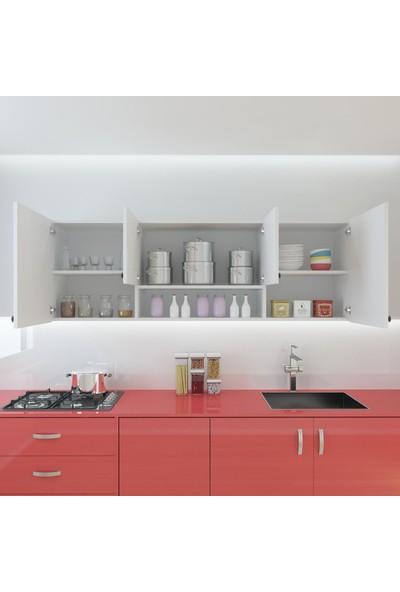 Kenzlife Hazır Mutfak Packey Byz 060*180*32 Mutfak Banyo Dolabı Kapaklı Raflı
