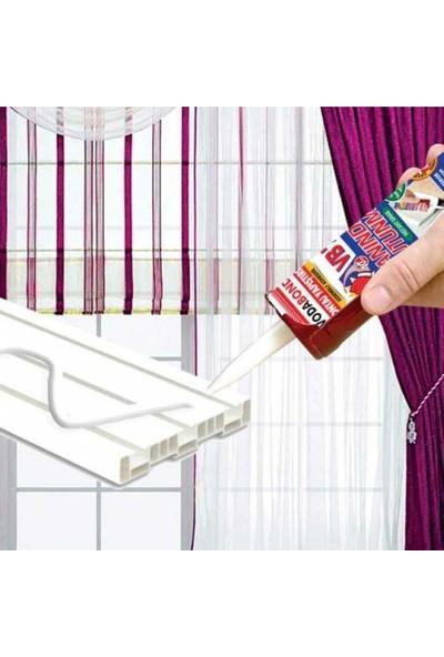 Vodabond Korniş Yapıştırıcı Montaj Silikonu Anında Tutunma Beyaz 420 gr