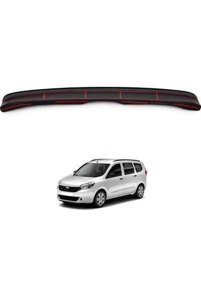 Dacia Lodgy Arka Tampon Eşiği Koruma (ABS) Parlak Siyah 2013 ve Sonrası