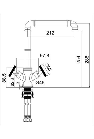Newarc Victory Eviye Bataryası Siyah 105531
