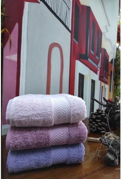 Roi Tekstil 3 Adet Bambu Havlu