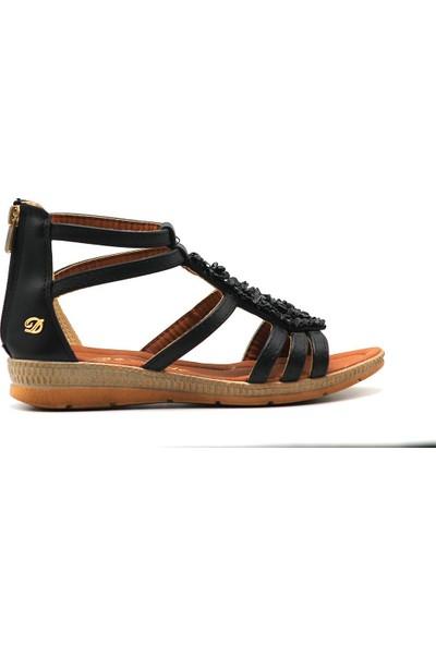 De Scario 02 Kadın Dolgu Topuk Sandalet