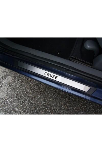 Att Chevrolet Cruze Sd Krom Kapı Eşik Koruması 2009-2013 4 Parça