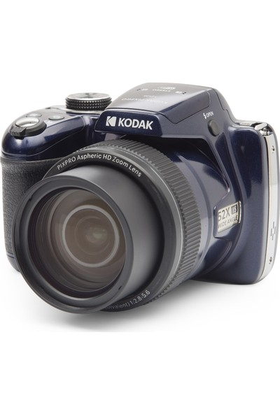 Kodak Pixpro AZ528 Astro Zoom Bsı-Cmos Fotoğraf Makinesi - 16MP 52X 1080P Wi-Fi (Gece Mavisi)