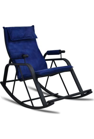 Evdemo Air Tv Koltuğu & Dinlenme Koltuğu - Sallanır Sandalye Lacivert