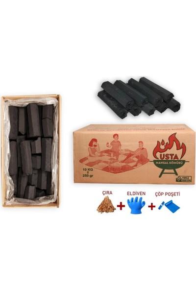 Narım 10 kg Pres Briket Mangal Kömürü Hediyeli Ürün