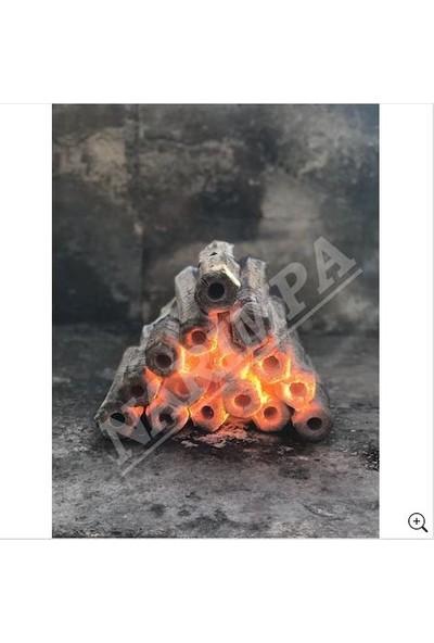 Narım Doğal Briket 10 kg Yerli Pres Mangal Kömürü