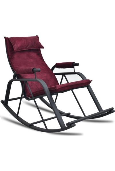 Evdemo Air Tv Koltuğu & Dinlenme Koltuğu - Sallanır Sandalye Bordo