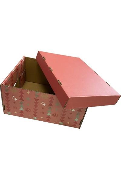 Prigo Yeni Yıl Hediye Kutusu-Kırmızı