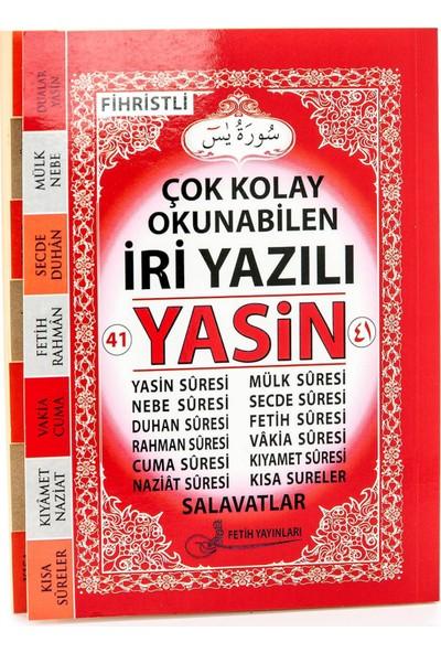 Fetih Yasin Kitabı Orta Boy 128 Sayfa Iri Yazılı Sade Arapça Fetih Yayınları Mevlid - 10 Adet