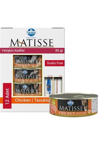 Matisse Mousse Chicken Tavuklu Kedi Konservesi 12X85 gr